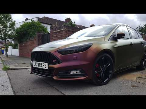 Best Wrap on a Ford Focus ST | JK Wraps