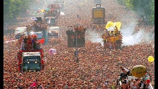 love parade 2003 berlin germany .german techno trance acid rave