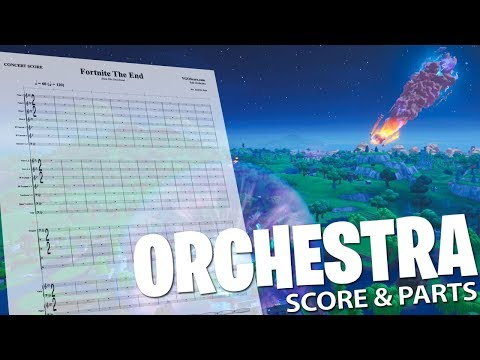Fortnite: The End   Orchestral Cover