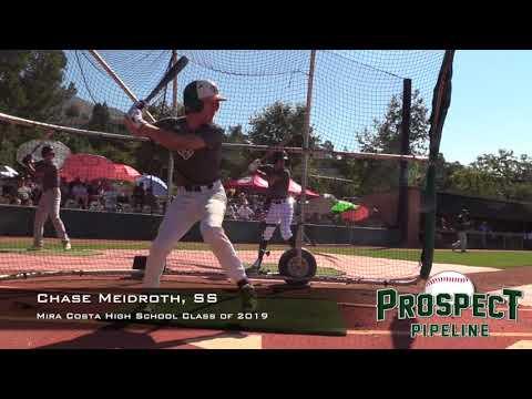 Chase Meidroth Prospect Video, SS, Mira Costa High School Class of 2019