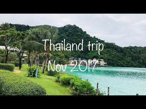 Thailand trip | Nov 2017 | Phuket | Phi Phi Island | Krabi | Check description box for details
