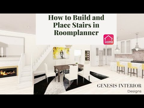 How To Build And Place Stairs In Your Room Planner Project