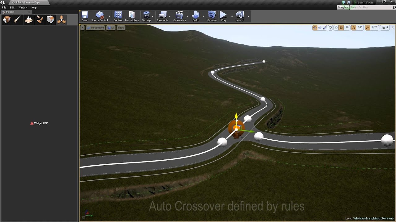 Road editor plugin unreal engine 4 youtube gumiabroncs Images