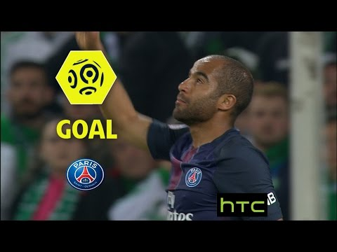 Goal LUCAS MOURA (38') / AS Saint-Etienne - Paris Saint-Germain (0-5)/ 2016-17