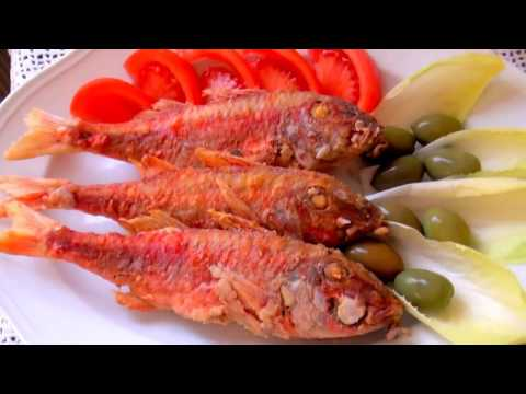 Fried  Red Mullet. Very Tasty!!!
