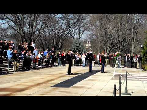 Haviland Middle School at the Tomb of the Unknowns