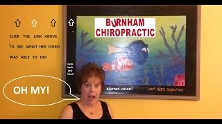 Testimonial: Jaw Pain, Blurred Vision, Headaches, Neck and Back Pain