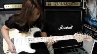 Yngwie Malmsteen Little Savage 桜花11歳 ギター少女