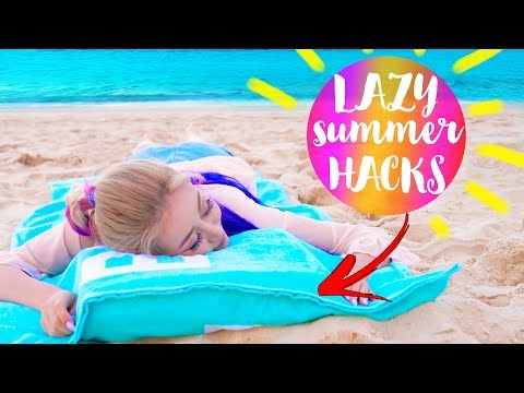 Thumbnail: 10 DIY Summer Life Hacks EVERY LAZY Person Should Know!!