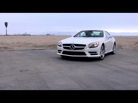 Mercedes-Benz SL 550 Video Review -- Edmunds.com
