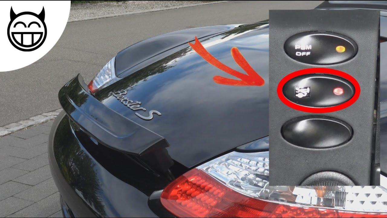 Boxster 986 Comment Installer Un Interrupteur Voyant D