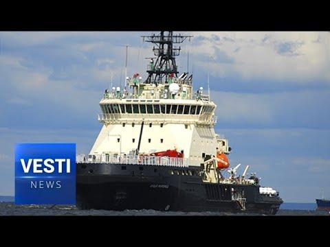 Russia Tests Unique New 'Combat-Icebreaker' in Arctic