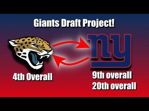 Giants MOCK Draft: Trade BACK With Jacksonville?(206)
