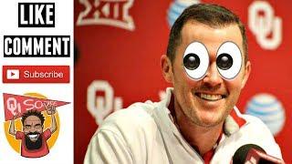 Twitter: how lincoln riley signals oklahoma commits (googly eye emoji)