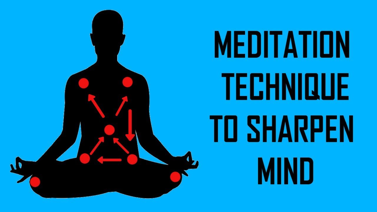 Meditation Technique to Sharpen Mind and Get into Deep Meditation - Simona Rich