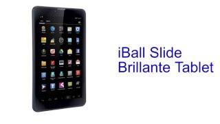 iBall Slide Brillante Tablet