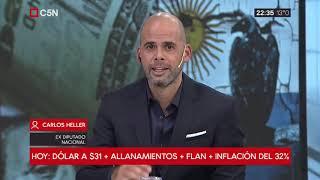 24-08-2018 - Carlos Heller en C5N – Recalculando, con Julián Guarino