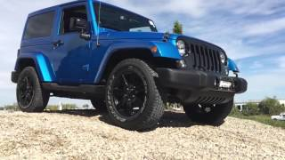 2014 Jeep Wrangler 4x4 Off Road Demonstration