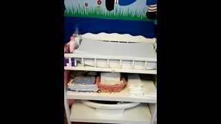 Homemade Raggedy Ann and Andy Rag Doll Nursery