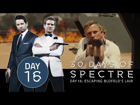 30 Days of SPECTRE #016: Escaping Blofeld's Lair | James Bond Radio