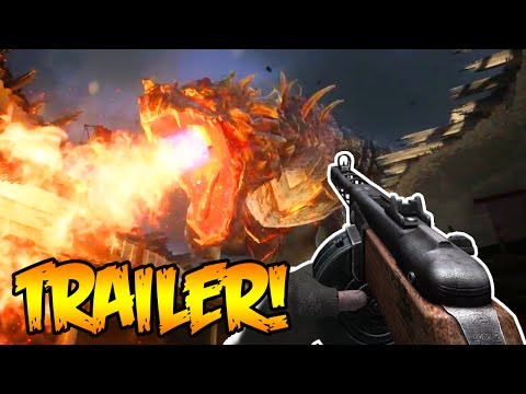 "BLACK OPS 3 ZOMBIES ""GOROD KROVI"" DLC 3 GAMEPLAY TRAILER - BLACK OPS 3 ZOMBIES NEW OFFICIAL TRAILER!"