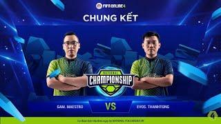 Trận Chung kết - GAM Maestro vs EVOS Thanh Tòng [NC2019S1 - 17.03.2019]