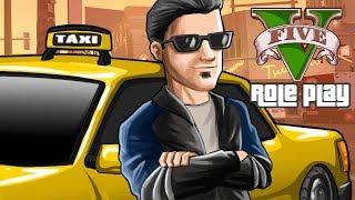 GTA V RP Vida Real - Meu Primeiro Emprego, Virei Taxista