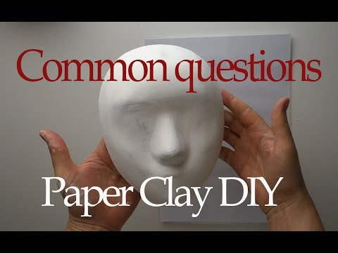 DIY Paper Clay Mass Common Questions