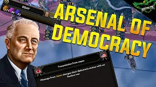 HOI4 MP The Arsenal of Democracy (Hearts of Iron IV Multiplayer)