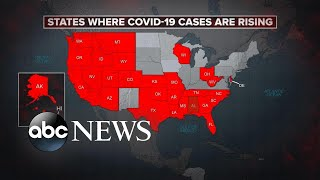 US sees 40,000 new COVID-19 cases in 1 day l ABC News