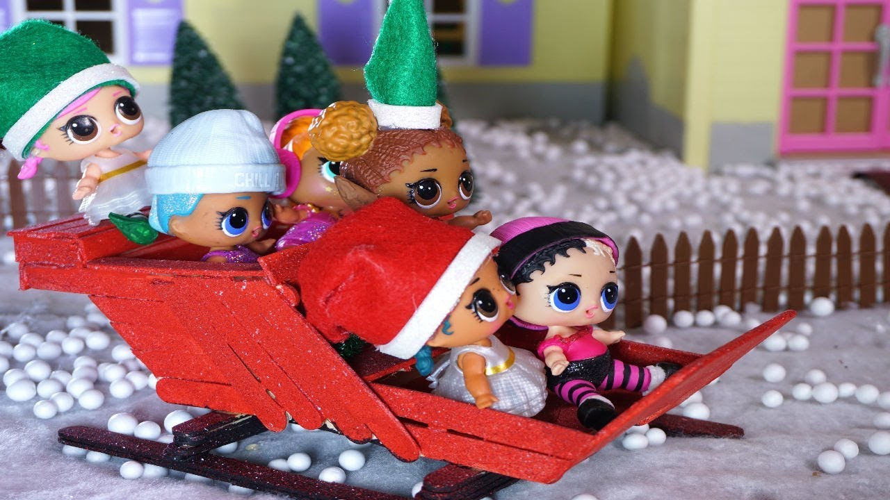 Lol Surprise Dolls Christmas Movie Youtube