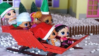LOL SURPRISE DOLLS Christmas Movie!