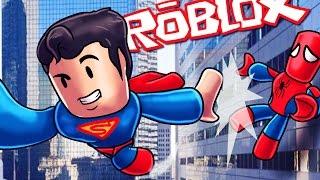 Roblox | SUPER-HERÓIS MATAM EACHOTHER! (Roblox Superhero Tycoon)