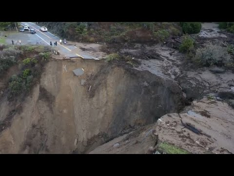This Drone Footage Shows Just How Bad the Washout South of Big ...