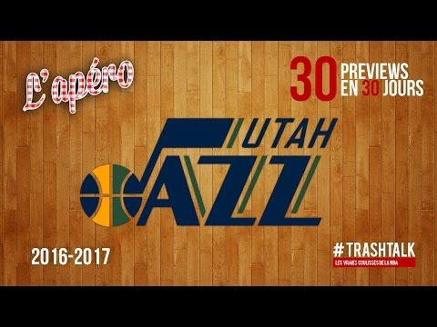 Apéro TrashTalk - Preview saison 2016/17 : Utah Jazz