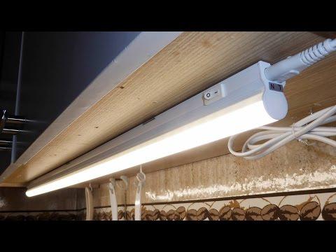 LED Unterbauleuchte (fsm) , Unboxing, Montage & Demo