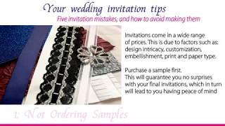 iyris invitations-wedding invitation tips - Part1