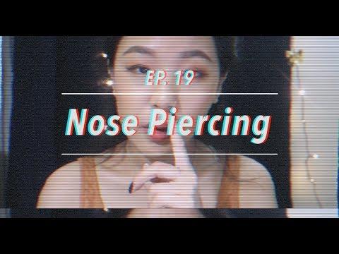 EP19  나의 코 피어싱의 모든 이야기  후기팁 공유 ☁︎