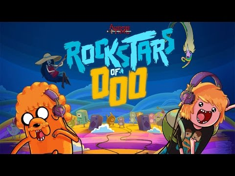 Rockstars of Ooo - Adventure Time Rhythm Game iOS Gameplay