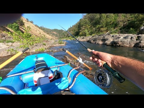 Solo Overnight Sierras Rafting And Fly Fishing