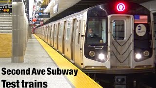 ⁴ᴷ Second Avenue Subway Non-Revenue Test Trains