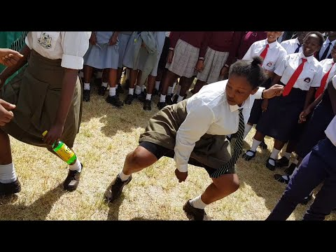 Schools all over Kenya do the Kanyaga Lami challenge SKIZA CODE SMS ( SKIZA 7300726 ) to 811 thumbnail
