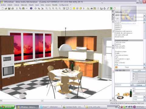 Diseño De Cocina Con Despiece En Kitchendraw