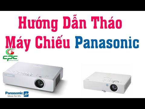 Hướng Dẫn Tháo Máy Chiếu  Panasonic,Sửa Chữa Máy Chiếu Hải Phòng