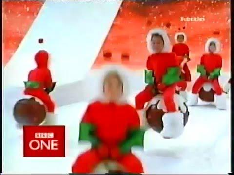 BBC One Christmas Eve 2004 continuity - YouTube