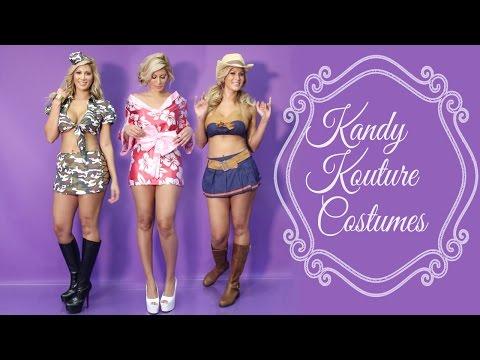 Halloween Cotume Review: Sexy Army, Kimono And Cowgirl Costumes