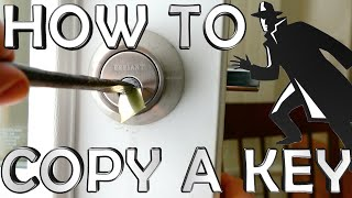 How To Copy a Key Like a Spy