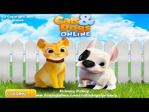 👍🐈Cat and 🐕Dog Online - Simulator-By Foxie Games Casual Action & Adventure-Android👍