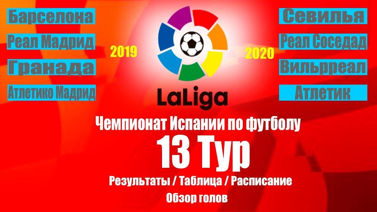 7 тур чемпионата испании по футболу