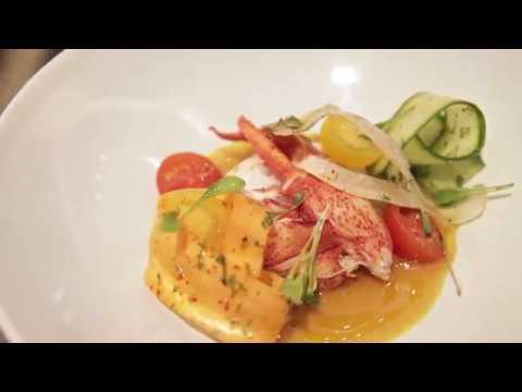 Park Hyatt Vienna - Lobster Crudo at The Bank Brasserie